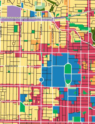 toronto land use map