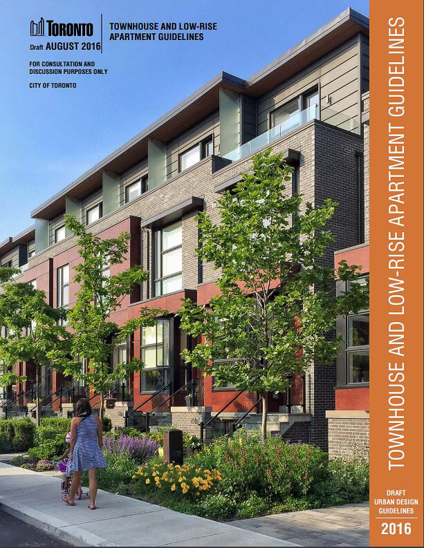 Townhouse and Low-Rise Apartment Guidelines