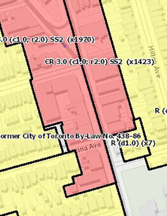 Zoning By-law 569-2013 Map